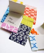 SusyJack Set of 10 Patterned Matchbooklets