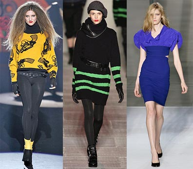 Fall 2008 Fashion Week Trend: Attack of the 1980s