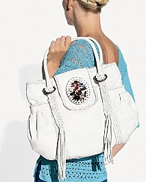 Bloomingdales white bag