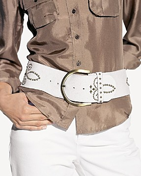 bloomingdales studded belt