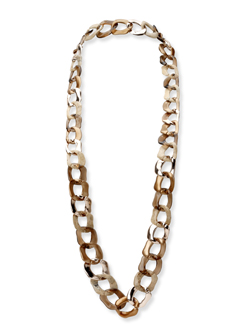 Guess chain link necklace