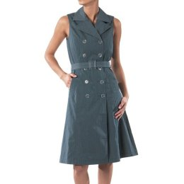 trench dress with pockets