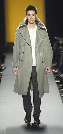 Kenneth Cole Fall 06 Fur Coat