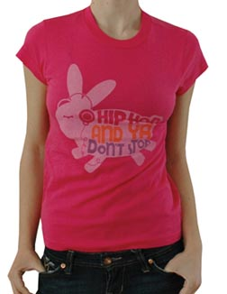 Local Celebrity Bunny T-Shirt