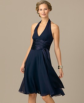 Navy Blue Dress Shoes on James Lakeland Navy Blue Ruffle Sleeve Dress Stunning Navy Blue Dress