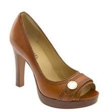Michael Kors open toe pumps