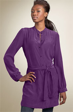 Purple tunic