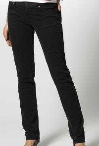 Polo black skinny pants