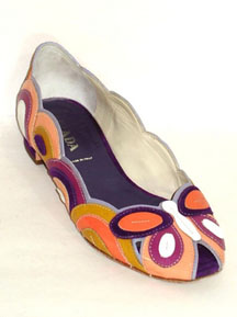 Prada Brightly Colored Flats