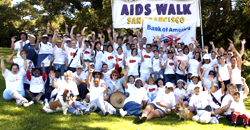 sf aids walk banner