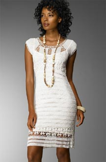 ABS Crochet Dress