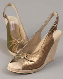 Annabelle Copper Shoes by C. Ronson