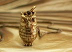 Archimedes Owl Necklace