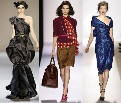 Fall 2008 Fashion Week Trend: Asymmetry