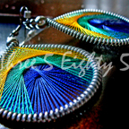 Baby Peacock Earrings