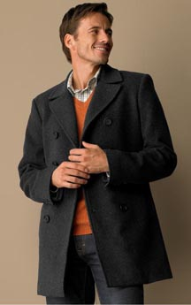 Banana Republic Wool Cashmere Peacoat