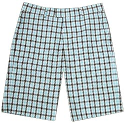Modern Amusement Basque Check Bermuda Shorts