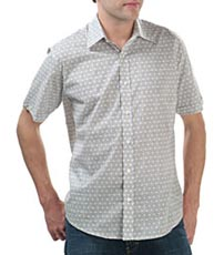 Ben Sherman Lake Short Sleeved Mod Fit Shirt