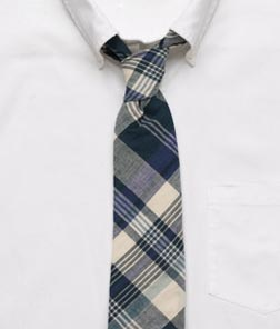 Bingham Madras Cambridge Tie