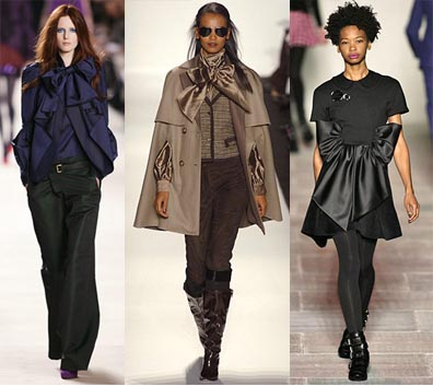 Fall 2008 Fashion Week Trend: Oversized Bows