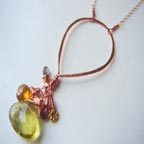 Brenna Copper Necklace
