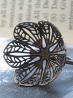 Brooke Medlin Flower Ring