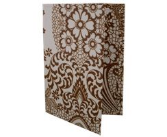 Brown Paisley Passport