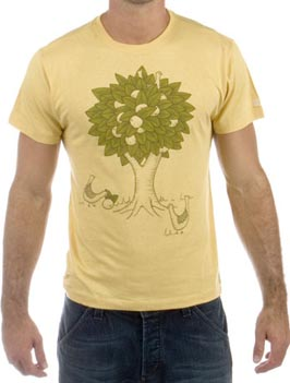 Brown Sound Citrus Tree Tee