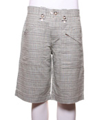 Brown Sound Solvang Plaid Shorts