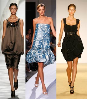 Bubble Skirts by Oscar de la Renta, Vera Wang, and Temperley London