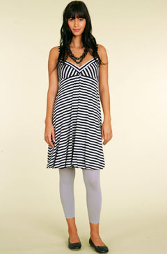 Bubble Hem Tunic Dress