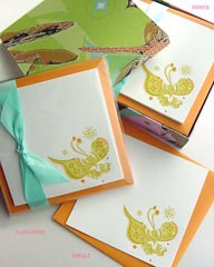 Butterfly Letterpress Notecards