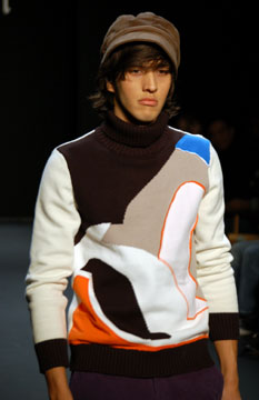 Cabbeen Fall 2007 Runway