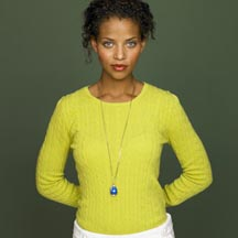 Cambridge Cable Crewneck Sweater