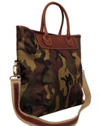 Camoflauge Town and Country Tote