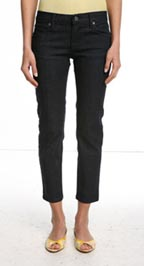 BDG 5 Pocket Capri Skinny Jean Dark Blue
