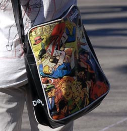 Cartoon Bag Closeup