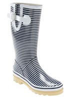 Chooka \'Starboard Stripe\' Rain Boot