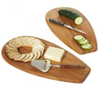 Chop, Scoop and Serve Wood Boards by Bambu