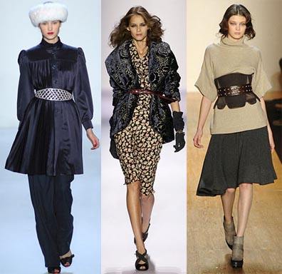Fall 2008 Fashion Week Trend: The Cinched Waist