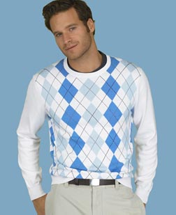 Claremont Argyle Sweater