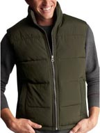 Clean Quilted Puffer Vest