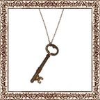 Clef de Coeur Necklace