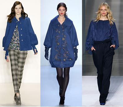 Fall 2008 Fashion Week Trend: Cobalt Blue