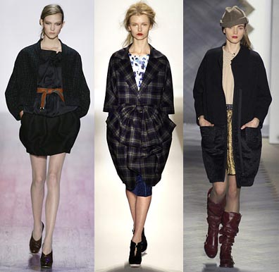 Fall 2008 Fashion Week Trend: Cocoon Coats