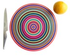 Color Rings Cutting Board at Satinbox