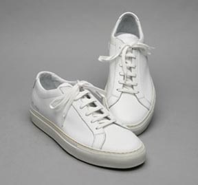 Common Projects Achilles Low Top in White