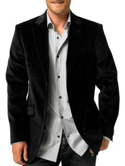 Banana Republic Cotton/Cashmere Two-Button Corduroy Blazer