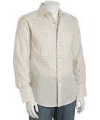 Ben Sherman Cream Dot Sport Shirt