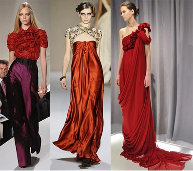 Fall 2008 Fashion Week Trend: Crimson Red